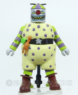 Nightmare Before Christmas Clown With A Tear Away Face.Minimate Database Clown With A Tear Away Face