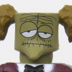 Nightmare Before Christmas Minimates Series 4 Zombie Sax Player