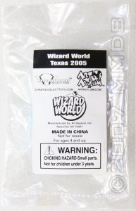 Minimate Database: Wizard World Texas 2005 Blue
