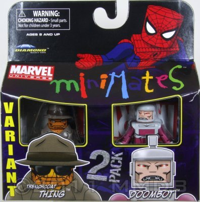 Marvel Minimates Series 37 Doombot /& Thing