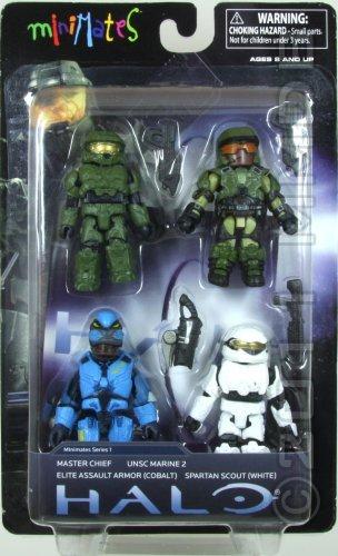 Cobalt Halo Minimates Series 1 Elite Assault Armor
