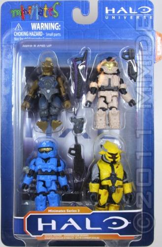 Halo Minimates série 3 Jackal Sniper