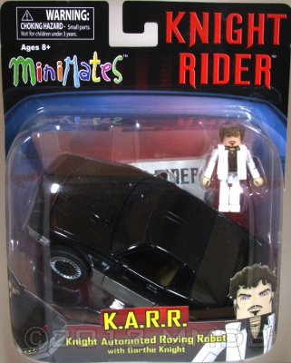 Minimate Database: K A R R  Knight Automated Roving Robot