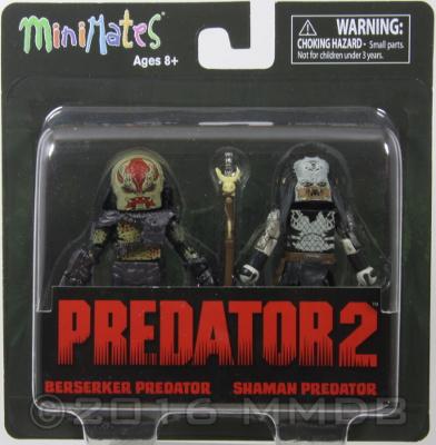 Minimate Database: Berserker Predator & Shaman Predator